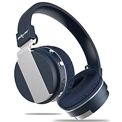 熱狂的なb17ノイズキャンセル超低音ワイヤレスステレオBluetoothヘッドフォンマイクfmラジオtfカードスロット