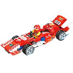 billiga Leksaker och spel-JIE STAR Leksaksbilar / Byggklossar 110 pcs Racerbil Kreativ / GDS (Gör det själv) Racerbil Unisex Present