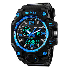 SKMEI Men's Sport Watch Digital Watch Digital Silicone Band Black