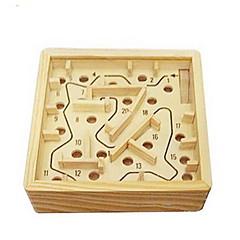 보드 게임 공 미로&순차 이동 퍼즐 루반 락 장난감 광장 나무 조각 규정되지 않음 선물