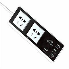 Nabíječka USB 6 Porty Stolní nabíjecí stanice S USB portem US Velká Británie EU Nabíjení adaptéru