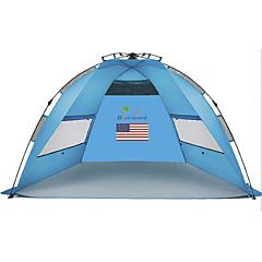 billige Telt og ly-2 personer Lytelt Telt Enkelt camping Tent Ett Rom Automatisk Telt Ultraviolet Motstandsdyktig Regn-sikker Støvtett til Camping &