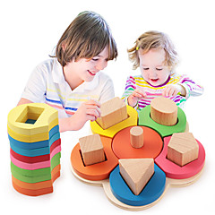 Χαμηλού Κόστους Παιχνίδια εκμάθησης μαθηματικών-Εργαλεία διδασκαλίας Μοντεσσόρι / Τουβλάκια / Εκπαιδευτικό παιχνίδι 1pcs Λουλούδι Εκπαίδευση Κοριτσίστικα Δώρο
