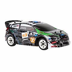 RC Car WL Toys K989 2,4G Korkea nopeus 4WD Drift Car Lastenvaunut Maasturi 1:28 Sähköharja 30 KM / H Kauko-ohjain Ladattava Sähköinen