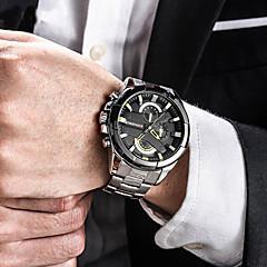 בגדי ריקוד גברים שעוני ספורט שעונים צבאיים שעוני שמלה שעוני אופנה שעון צמיד ייחודי Creative צפה שעונים יום יומיים שעון יד Japanese קווארץ