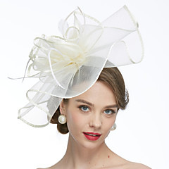 cheap Party Hats-Net Fascinators Hats Birdcage Veils 1 Wedding Special Occasion Headpiece