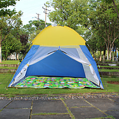 billige Telt og ly-2 personer Skjermtelt Telt Enkelt camping Tent Ett Rom Automatisk Telt Camping & Fjellvandring Regn-sikker Støvtett Telt til Camping &