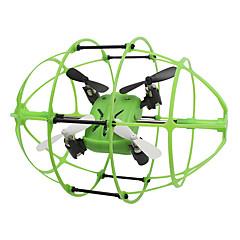 billige Fjernstyrte quadcoptere og multirotorer-RC Drone Skytech M69 4 Kanal 2.4G - Fjernstyrt quadkopter LED-belysning Fjernstyrt Quadkopter USB-kabel Blader