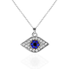 cheap Necklaces-Women's Rhinestone Pendant Necklace Chain Necklace - Unique Design Evil Eye Necklace For Christmas Gifts Party Birthday Daily