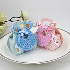 cheap Favor Holders-Others Card Paper Nonwoven Fabric Favor Holder with Lace Favor Boxes - 12