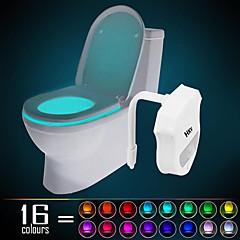 HKV 1 kpl WC-valo Infrapunasensori Vaihtuva väri
