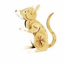 baratos -Quebra-Cabeças 3D Quebra-Cabeça Modelos de madeira Animais Faça Você Mesmo Madeira Madeira Natural Unisexo Dom