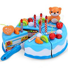 billiga Leksakskök och -mat-Leksaksmat Tårt- och kakskärare Tårta Plastik Barn Present 1pcs