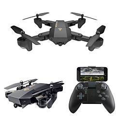 billige Fjernstyrte quadcoptere og multirotorer-RC Drone VISUO XS809W 4 Kanaler 6 Akse 2.4G Med HD-kamera 0.3MP 480P Fjernstyrt quadkopter WIFI FPV Høyde Holding En Tast For Retur