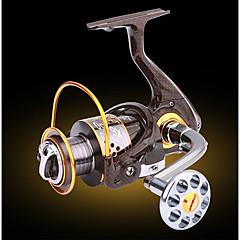 Angelrolle Bearing Spinnrollen 5.2:1 13 Kugellager Austauschbar Seefischerei Eisfischen Fischen im Süßwasser Spinnfischen Angeln