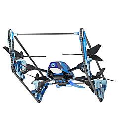 billige Fjernstyrte quadcoptere og multirotorer-RC Drone WL Toys Q919-B 4 Kanaler 6 Akse 2.4G / 5.8G Med HD-kamera 2.0MP Fjernstyrt quadkopter FPV / LED Lys / Auto-Takeoff Fjernstyrt