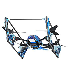 billige Fjernstyrte quadcoptere og multirotorer-RC Drone WL Toys Q919-B 4 Kanaler 6 Akse 2.4G 5.8G Med HD-kamera 2.0MP Fjernstyrt quadkopter FPV LED Lys Auto-Takeoff Feilsikker