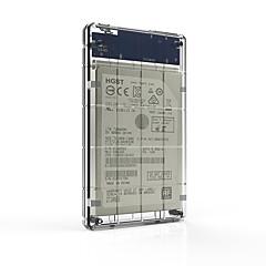 המושב hds2160-c 2.5 אינץ 'שקוף USB3.0 נייד דיסק קשיח תיבת ssd ואת הדיסק הקשיח