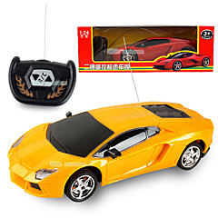 RC Car LBGN 2 kanavainen 2,4G Auto Korkea nopeus Kilpa-auto 1:24 Harjaton sähköinen 50 KM / H Kauko-ohjain Ladattava Sähköinen