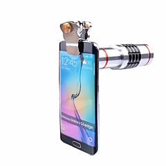 Универсальные зажимы объектив объектива объектива объектива объектива 18x объектив телеобъектива для iphone 7 5 6 s samsung сотовый