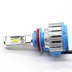hesapli Araba Farları-H11 / H8 Araba Ampul 35 W Yüksek Performanslı LED 7000 lm Kafa Lambası