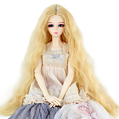 cheap Wigs & Hair Pieces-Synthetic Wig Women's Kinky Curly Synthetic Hair Wig Dark Blonde miss u hair / Doll Wig