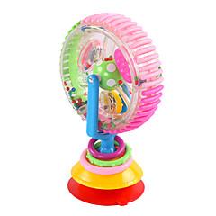 preiswerte Babyspielzeug-Spielzeug-Autos Bausteine Bildungsspielsachen Spielzeuge Riesenrad Kunststoff Baby Stücke