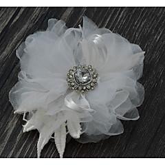 cheap Party Headpieces-Cotton Flowers Headpiece