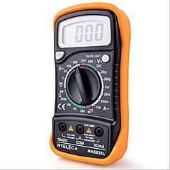 tanie Instrumenty elektryczne-hyelec mas830l mini multimetr cyfrowy multimetr ręczny multimetr ręczny