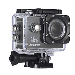 Andoer AN4000 WiFi 720P 1080P 4K 60fps 30fps 120fps 4x 2 CMOS 64 GB H.264 Multi-language 40 M