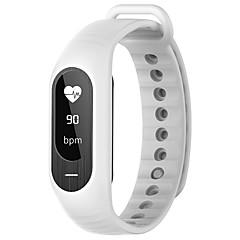 B15P Pulseira Inteligente iOS AndroidImpermeável Calorias Queimadas Pedômetros Esportivo Monitor de Batimento Cardíaco Sensível ao Toque