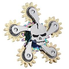 billige Håndspinnere-Håndspinnere hånd Spinner Snurrebass Focus Toy Nyhet Messing Sinklegering Deler Unisex Barne Voksne Gave
