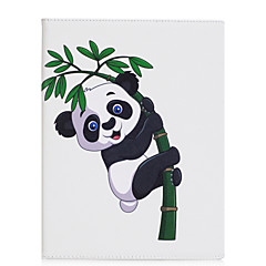 Case For IPad 2 3 4 Air Air 2 Pro 9.7'' Case Cover Giant Panda Pattern PU Material Three Fold Flat Computer Shell Phone Case
