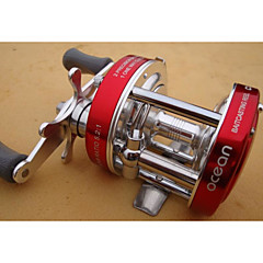 cheap Fishing Reels-Fishing Reel Bearing Baitcasting Reels 5:1 Gear Ratio+8 Ball Bearings Exchangable Sea Fishing Fly Fishing Freshwater Fishing General