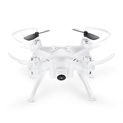 billige Fjernstyrte quadcoptere og multirotorer-RC Drone TK106RHW 4 Kanal 2.4G Med 0.3MP HD-kamera Fjernstyrt quadkopter LED-belysning Fjernstyrt Quadkopter USB-kabel Skrutrekker Blader