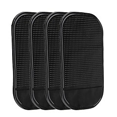 ZIQIAO 4Pcs Universal Car Dashboard Pad Anti-slip Mat for Phone Pad GPS Sticky Mats in The Car Phone Holder for Phones GPS Key