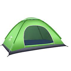 2 osoby Stříška Jednoduchý Camping Tent skládací stan Teplý Voděodolný pro Oxford CM