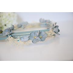 cheap Party Headpieces-Cotton Headbands Flowers Headpiece Elegant Classical Feminine Style