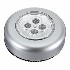 billige Interiørlamper til bil-Ziqiao 4 ledet bil hjem trådløst tappekontakt garderobeskap berøringslys lampe batteri drevet berøringslys berøringslampe