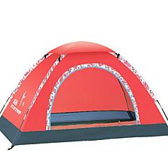 3-4 personer Tilbehør for Telt Enkelt camping Tent Ett Rom Brette Telt Vanntett Pustende Telt Vinntett til Camping & Fjellvandring
