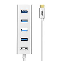 billige USB Hubs & Kontakter-Unitek 4 USB Hub USB 3.0 Type C USB 3.0 OTG Data Hub