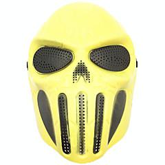 Halloween-Masken Urlaubsrequisiten Urlaubszubehör Dekoration Praktische Witzsachen Haloween Figuren Masken Totenkopfmaske Spielzeuge