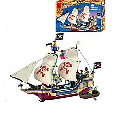 ブロックおもちゃ おもちゃ 船 海賊 小品 ギフト