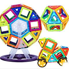 Bausteine Magnetische Blöcke Magnetische Gebäude-Sets Spielzeugautos Spielzeuge andere Stücke Kinder Jungen Geschenk