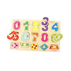 Bildungsspielsachen Holzpuzzle Spielzeuge Haus andere Zahl friut Unisex Stücke