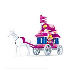 tanie Klocki magnetyczne-Klocki Zamek Powóz Fun & Whimsical Dla dziewczynek Zabawki Prezent