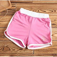 billige Bukser og leggings til piger-Baby Pige Ensfarvet Shorts