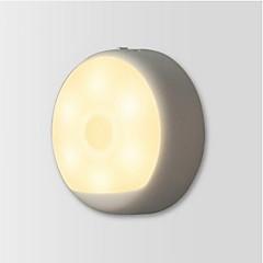 billiga Dekorativ belysning-Xiaomi 1 st LED Night Light USB / Batteri Infraröd sensor