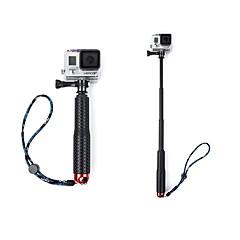 Telescopic Pole 引き込み式, のために-アクションカメラ,フリーサイズ Xiaomi Camera 屋外 アルミニウムダイキャスト シリコーン
