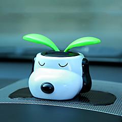 Diy Automobil Ornamente Solar Blume schüttelte den Kopf Cartoon Puppe Auto Anhänger&Ornaments abs harz
